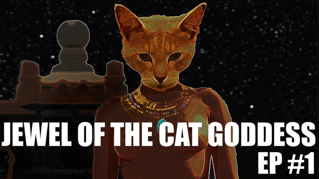 Jewel of the Cat Goddess Cover